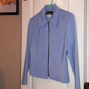 Positive Attitude Jackets & Coats - Light Blue Buisness Jacket